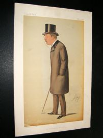 Vanity Fair Print 1885 Thomas Hay Sweet Escott